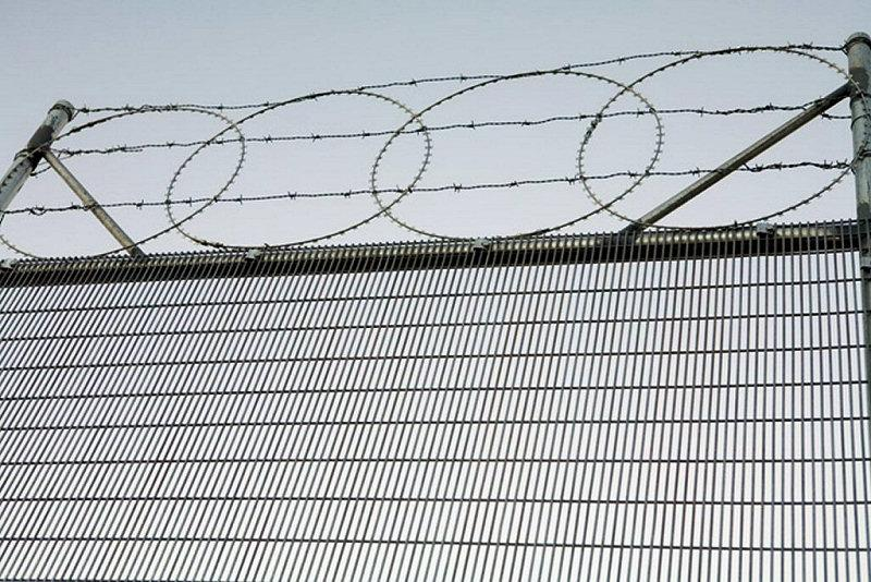 CF 358 High Security Gate and Fencing with Razor Wire
