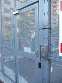 Access Control Entry Gate