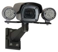 Surveillance Camera with Lighting