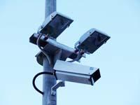 Security Lighting with CCTV