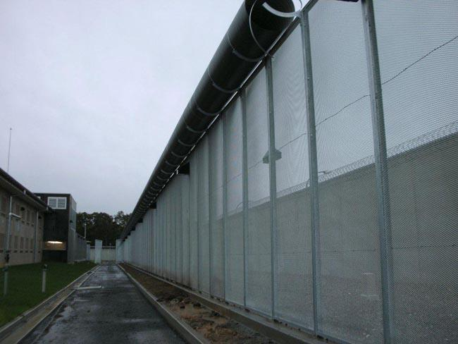 Macem Fencing with Anti Climb Drum