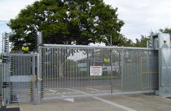 Motorised high security Gates