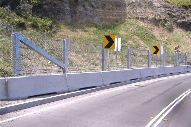 Roadway Rock Fall Fencing