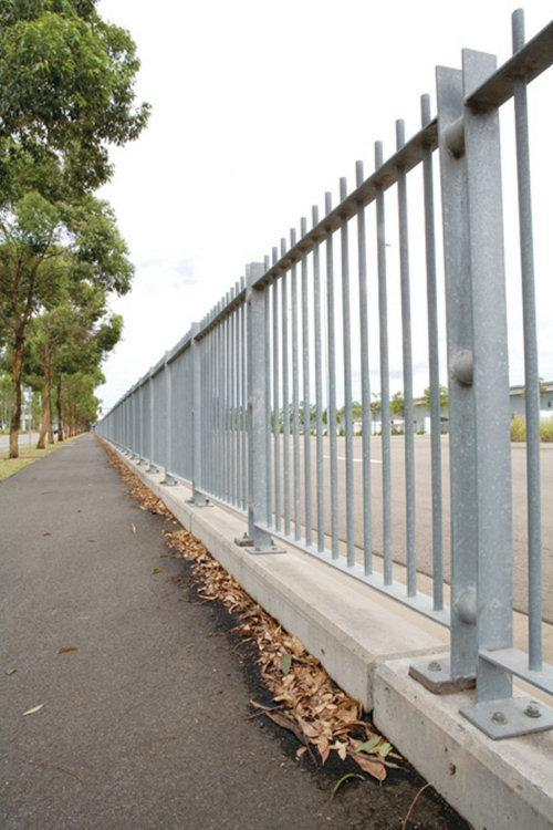 Pedestrian safety fencing supply and install - Colemans Fencing